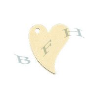 Gold-Filled Heart 9mm Charms 29124-GF