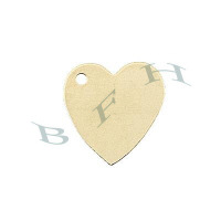 Gold-Filled Heart 10mm Charms 29125-GF