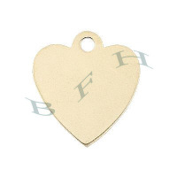 Gold-Filled Heart Charms 12207-GF