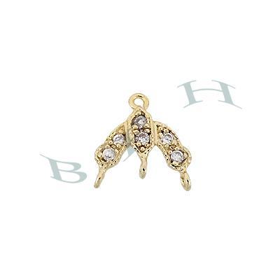 Vermeil Chandelier Earring Connector 29216-Vm