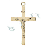 Gold-Filled Crucifix Charms 29236-GF