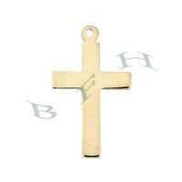 Gold-Filled Cross 21mm Charms 29297-GF