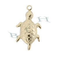 Gold-Filled Turtle Charms 29354-GF