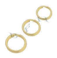 Gold-Filled Split rings