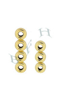 14K 4mm Spacing Roundel Dividers 4231-14K