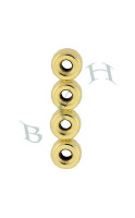 14K 5mm Spacing Roundel Dividers 4234-14K