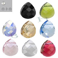 Item 6012 Swarovski Crystal Pendants