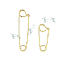 Gold-Filled Safety Pins