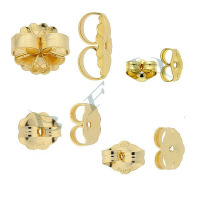 Gold-Filled Friction Butterfly Back Earnuts
