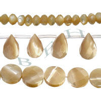 Brown Mother Of Pearl Beads