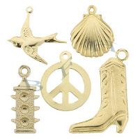 14K Gold Charms