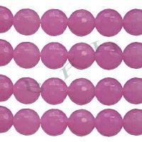Pink 3 Dyed Jade Beads