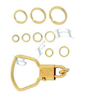Gold-Filled Jumprings, Key Rings And Splitrings