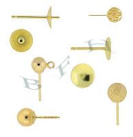 Gold-Filled Stud Earrings