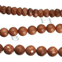 Gold Sandstone Beads