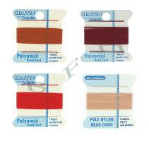 Carded Polyamide Beading Cords (Nylon Cords)