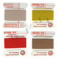 Carded Beading Silk Cords