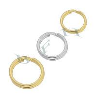 14K Split Rings