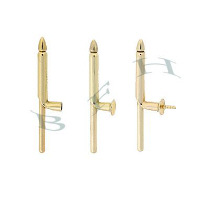 Gold-Filled Stud Cufflink Backs