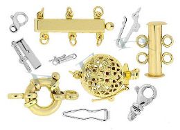 14K Clasps And Clasp Parts