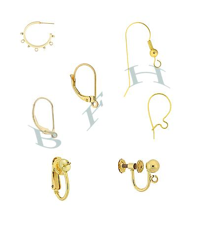 Gold-Filled Earrings and Earring Components