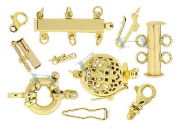 Gold-Filled Clasp Components And Gold-Filled Clasps